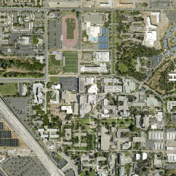 ArcGIS Ucr Campus Map Labels on