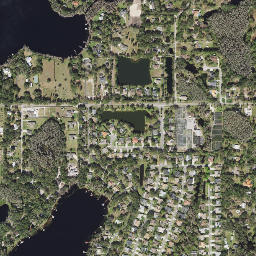 Pretty Lake Overview Current Conditions TampaBayWaterAtlasorg - Pretty lake map