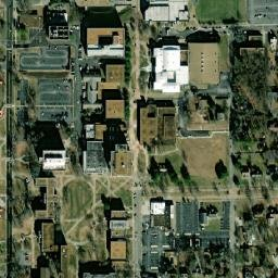 Murray State University Main Campus Map