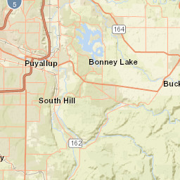 USGS Site Map for USGS 12101500 PUYALLUP RIVER AT PUYALLUP, WA