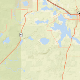 USGS Site Map For USGS POKEGAMA LAKE NEAR GRAND RAPIDS MN - Pokegama lake map