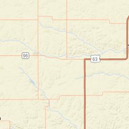 USGS Site Map for USGS 05452000 Salt Creek near Elberon, IA