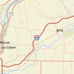 Usgs Site Map For Usgs 05447800 Rock River Near Moline Il