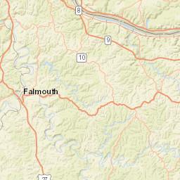 Daniel Boone National Forest - berland Ranger District Habitat Map on