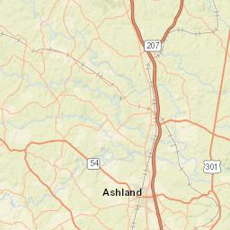 Usgs Site Map For Usgs 02037500 James River Near Richmond Va