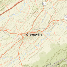 Usgs Site Map For Usgs 03455000 French Broad River Near Newport Tn