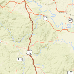 Little Red River Arkansas Map.Usgs Site Map For Usgs 07076620 Little Red River Near Searcy Ark