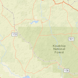 USGS Site Map for USGS 07372050 Dugdemona River near Joyce, LA