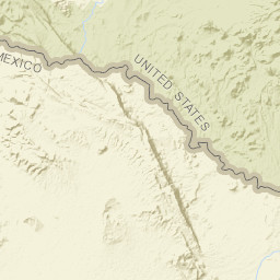 USGS Site Map for USGS 08375300 Rio Grande at Rio Grande Village