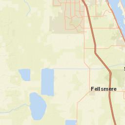 Map Of Vero Beach Florida.Usgs Site Map For Usgs 02253500 South Canal Near Vero Beach Fl