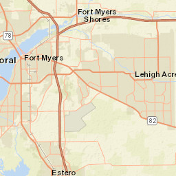 Usgs Site Map For Usgs 02291500 Imperial River Near Bonita Springs Fl