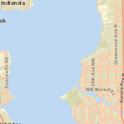 City Of Seattle, County Of King, Bureau Of Land Management, Esri, HERE,  Garmin, NGA, USGS, NPS | Copyright, Weather Decision Technologies (WDT), ...