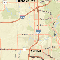 Fairlawn Ohio Map.Interactive Map Broadview Heights Oh Official Website