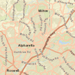 alpharetta ga map