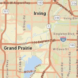Map | Visit Grand Prairie, Texas S In Texas Map on