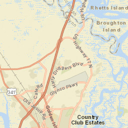 Map Of Georgia Golden Isles.Traffic Count Web Map Glynn County Ga Official Website