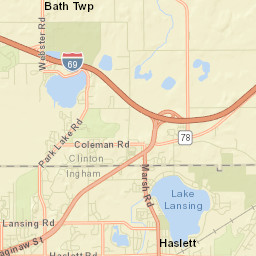 Park Maps Facility Maps Cemetery Maps Lansing MI