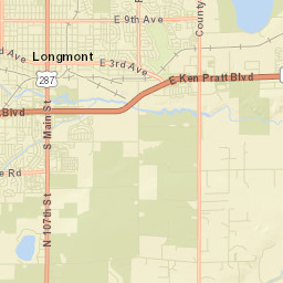 Active Development Log and Map City of Longmont Colorado