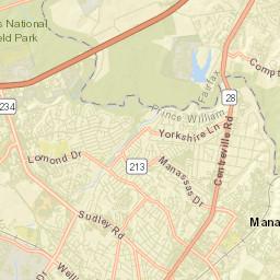 Manassas City GIS & Interactive Mapping Application