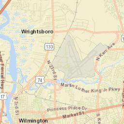 City Limits City Of Wilmington Nc