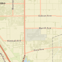 City of Chino CA Street Sweeping Map