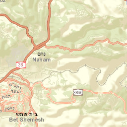 Map - KKL JNF – Keren Kayemeth LeIsrael – Jewish National Fund