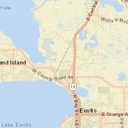 Map Tavares Florida.District 2 School Member District