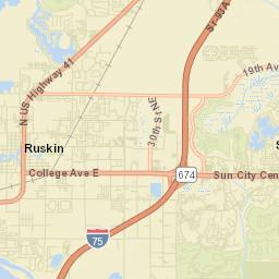 Sun City Florida Map.Ruskin Fl Report Potholes Graffiti Street Light Out And Other
