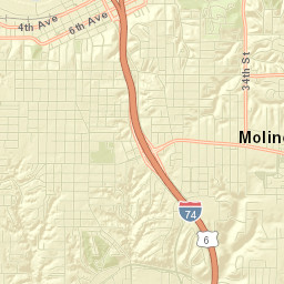 Road Conditions In Iowa Map.City Of Moline Road Closures