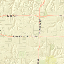Moline Elementary School District Lookup Map