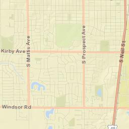 map_Champaign-Urbana | i3 Broadband on