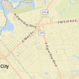 Webster, TX - ZIP Codes Area
