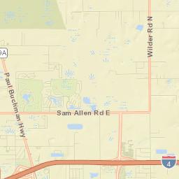 Parks Recreation Facility Map City Of Plant City Florida