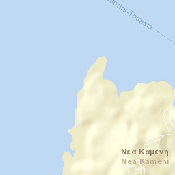 The Volcano of Santorini on piraeus greece map, meteora greece map, thera ancient mediterranean map, lesvos greece map, epidaurus greece map, samos island greece map, thera volcano eruption map, thera greece volcano map, santorini map, island of thera aegean sea map, byzantium greece map, athens greece map,