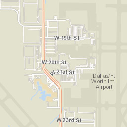 ArcGIS - DFW Airport Parking Map on