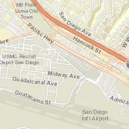 Little Italy San Diego Map.Little Italy San Diego Ca Report Potholes Graffiti Street