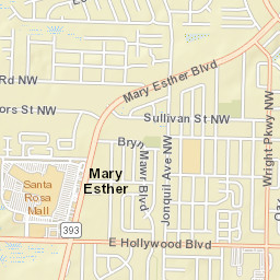 Mary Ester Florida Map.Mary Esther Fl