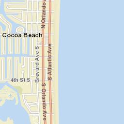 Cocoa Beach Florida Map.Cocoa Beach Fl Official Website