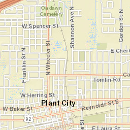 Map Of Plant City Florida.Recreation Parks Facility Map Plant City Fl Official Website