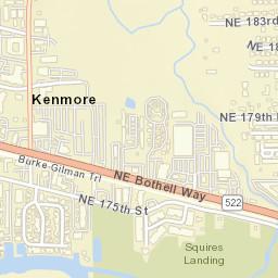 Kenmore Wa Zip Code Map.Usps Com Location Details
