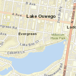 Lake Oswego Zip Code Map.Usps Com Location Details