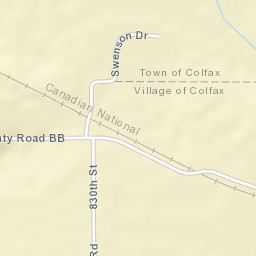 Colfax Wisconsin Map.Usps Com Location Details