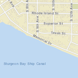 Zip code for sturgeon bay wi