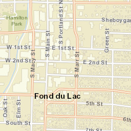 Fond Du Lac Zip Code Map.Usps Com Location Details