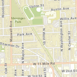 Royal Oak Michigan Zip Code Map.Usps Com Location Details
