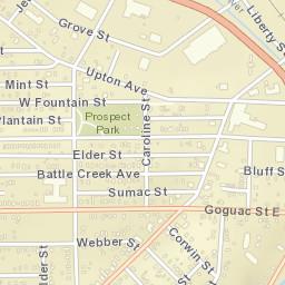 Battle Creek Mi Zip Code Map.Usps Com Location Details