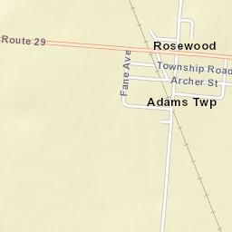 USPScom Location Details - Kiser lake map