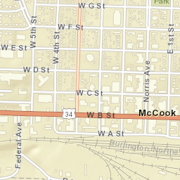 Zip code for mccook ne