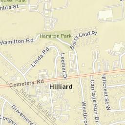 Hilliard Zip Code Map.Usps Com Location Details