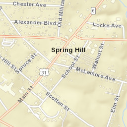 Spring Hill Tn Zip Code Map.Usps Com Location Details